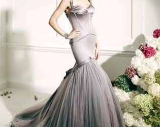 Gown From Truly Zac Posen For David's Bridal Collection