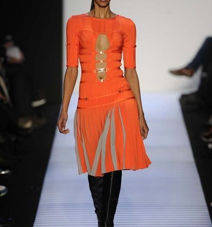 Herve Leger By Max Azria Fall 2014 Rtw Look  (11)
