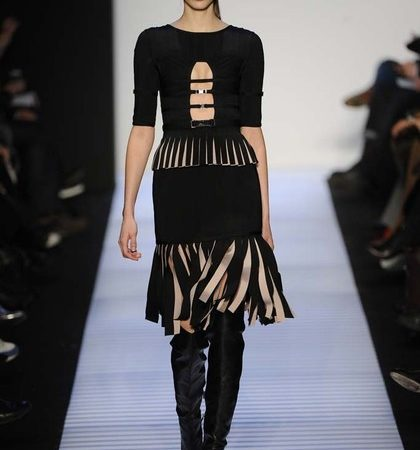 Herve Leger By Max Azria Fall 2014 Rtw Look  (14)