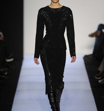 Herve Leger By Max Azria Fall 2014 Rtw Look  (19)