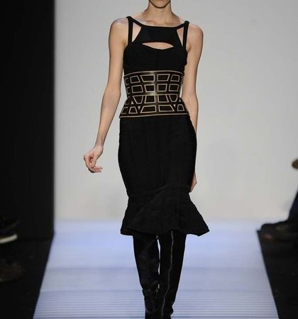 Herve Leger By Max Azria Fall 2014 Rtw Look  (2)