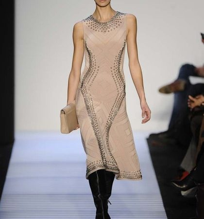 Herve Leger By Max Azria Fall 2014 Rtw Look  (20)