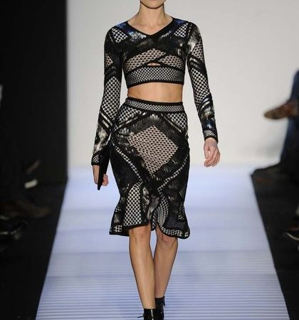 Herve Leger By Max Azria Fall 2014 Rtw Look  (24)