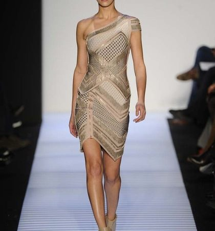 Herve Leger By Max Azria Fall 2014 Rtw Look  (26)
