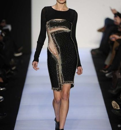 Herve Leger By Max Azria Fall 2014 Rtw Look  (28)