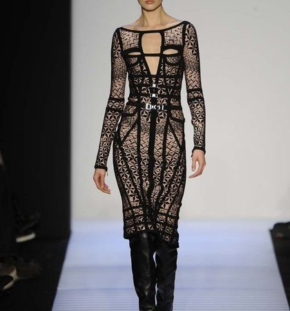 Herve Leger By Max Azria Fall 2014 Rtw Look  (3)