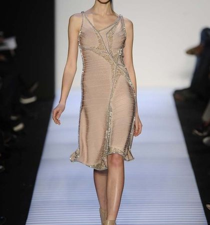 Herve Leger By Max Azria Fall 2014 Rtw Look  (30)