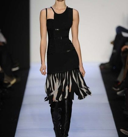 Herve Leger By Max Azria Fall 2014 Rtw Look  (9)