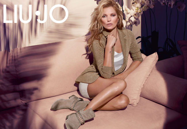 Kate Moss for Liu Jo Spring/Summer 2014 Campaign
