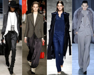 Menswear Inspired Jackets And Pants Fall 2014 Trends