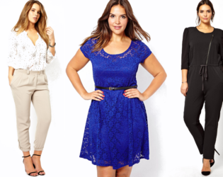 Monochromatic Outfits For Curvy Petites