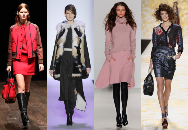 NYFW Fall 2014 Trends: Leather, Abstract Motifs and Fur