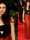 Olga Kurylenko 2014 Bafta Red Carpet