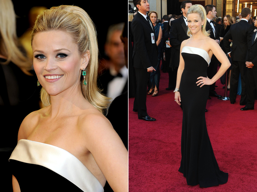 Reese Witherspoon Oscar Dress 2011