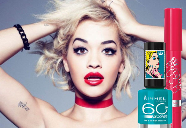 Rita Ora for Rimmel London Makeup Collection