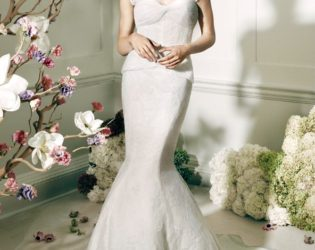 Wedding Gown From Truly Zac Posen For David's Bridal Collection