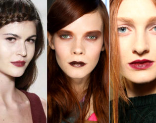 Berry Lips Fall 2014 Makeup Trends
