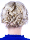 Boho Updo With Fishtail Braids