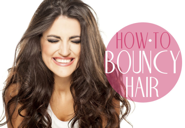 How to Add Bounce to Your Hair