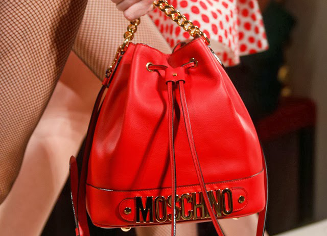 Bucket Bag Spring 2014 Moschino