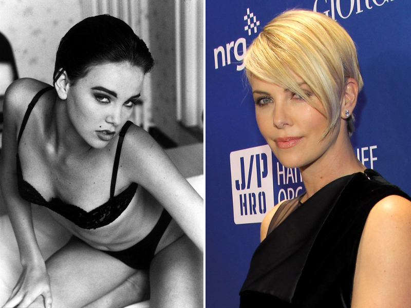 Charlize Theron Modeling Career