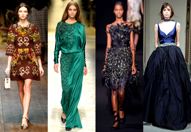 MFW Fall 2014 Fashion Trends: Femininity & Elegance