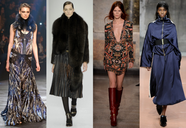 MFW Fall 2014 Trends: Exaggerated Proportions, Bold Prints & Fur