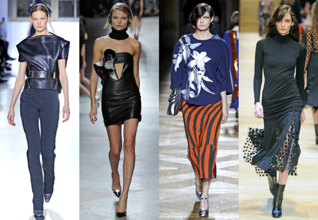 PFW Fall 2014 Trends: Bold Tones, Leather & Modern Tailoring