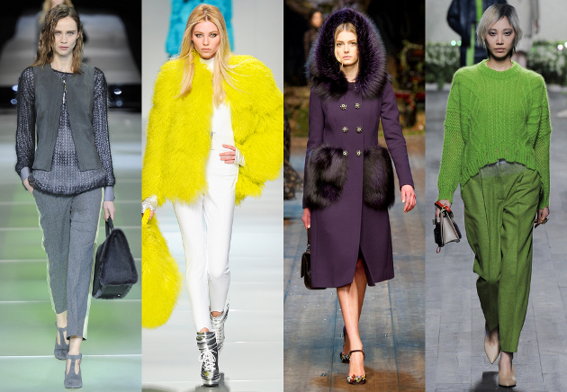 Fashion Color Trends for Fall