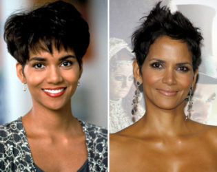 Halle Berry Then And Now