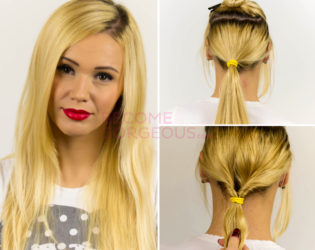 How To Style An Easy Updo