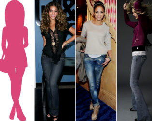 Jeans For Pear Body Type