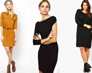 Jersey Dresses For Petite Women With Curves