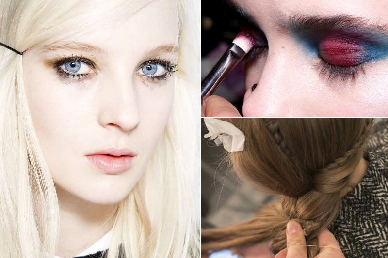 The Coolest Makeup Looks From London Fashion Week   Cool