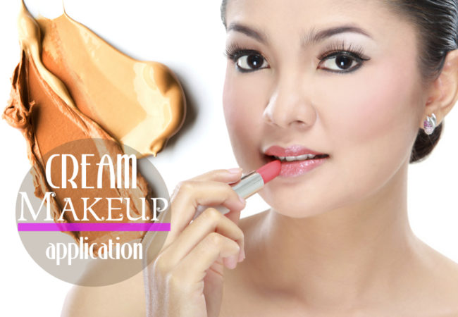 How to Apply Cream Makeup Products
