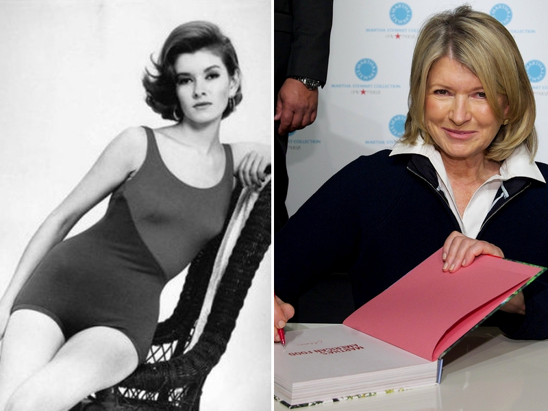 Martha Stewart Modeling Career