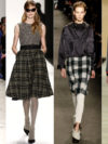 Plaid And Tartan Fall 2014 Trends