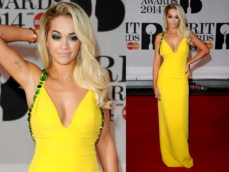 Rita Ora Brit Awards 2014