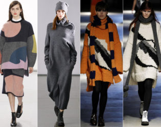 Slouchy And Unstructured Fall 2014 Trends