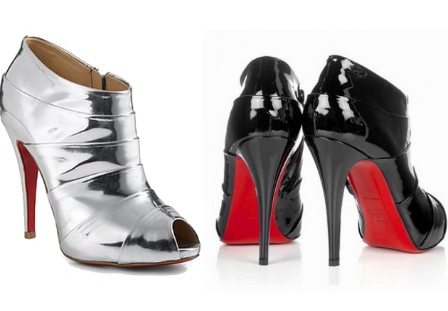 Christian Louboutin Robot 120 Ankle Boots