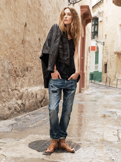 Erin Wasson For Madewell Spring 2014 Campaign  (10)