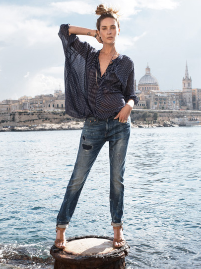 Erin Wasson For Madewell Spring 2014 Campaign  (11)