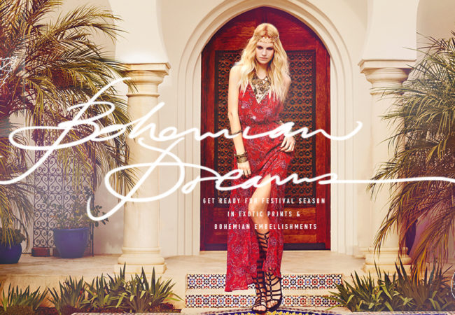 Forever 21 Bohemian Dreams 2014 Lookbook