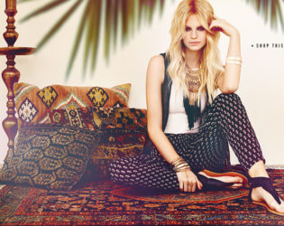 Forever 21 Bohemian Dreams Look  (1)