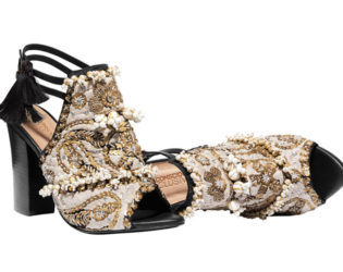 H And M Conscious Collection Embroidered Sandals