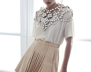 H And M Conscious Collection Pleated Skirt