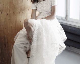 H And M Conscious Collection White Lace Dress