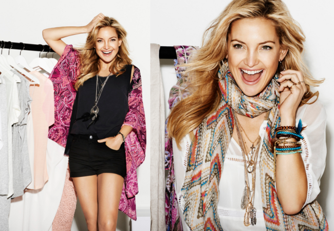 Kate Hudson for Lindex Spring 2014 Campaign