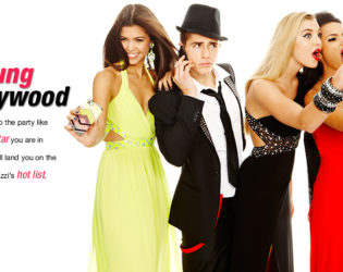 Macy's 2014 Prom Dresses Young Hollywood Style (1)