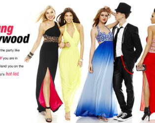 Macy's 2014 Prom Dresses Young Hollywood Style (2)